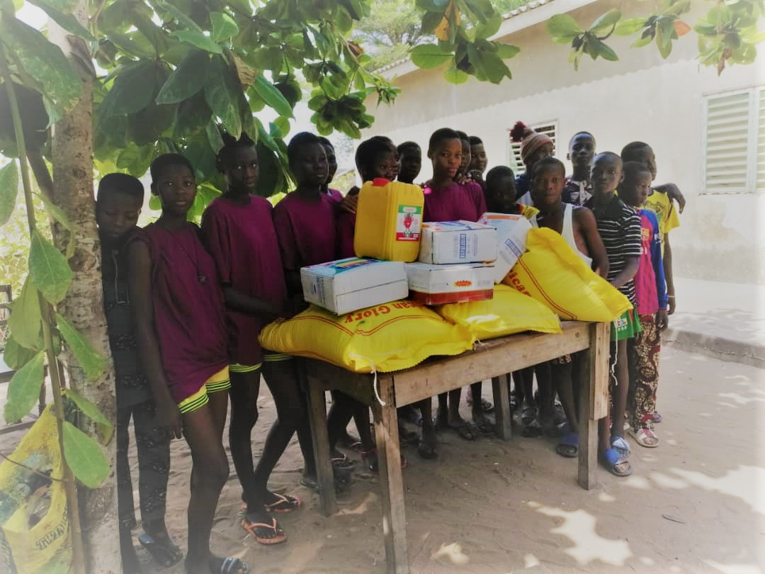 Scandinavian Biopharma Wishes Happy Holidays by donating food, medicines and mattresses to several orphanages in Benin!