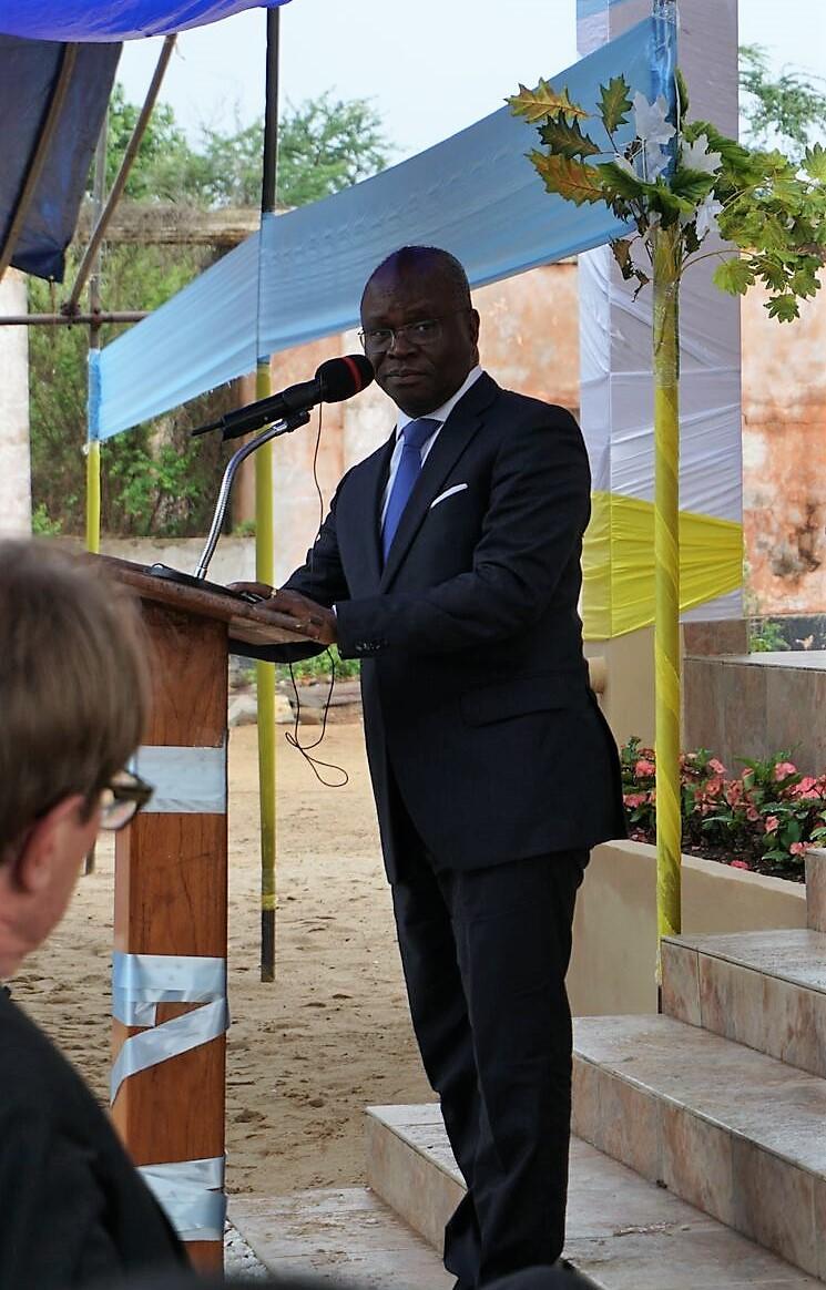 Foreign Minister Aurélien Amah Agbenonci BS